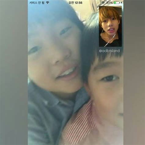 kim taehyung brother bts with their family member army s amino