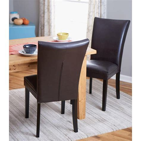 home decorators chairs home decorators collection brown parsons dining chair