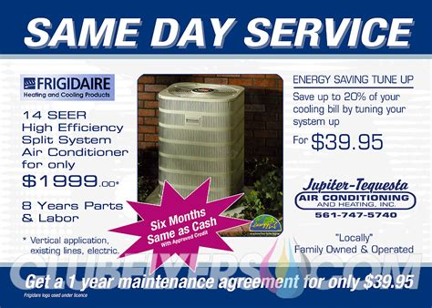 florida hvac efficiency card template jupiter tequesta air conditioning and heating inc
