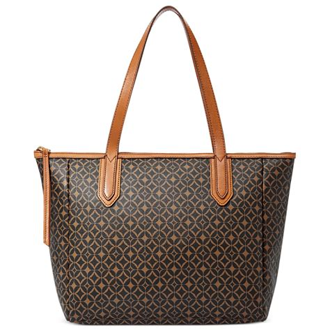 Fossil Tote fossil sydney tote in multicolor multi brown lyst