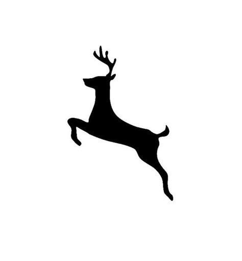 reindeer silhouette template silhouette reindeer no 2 on luulla