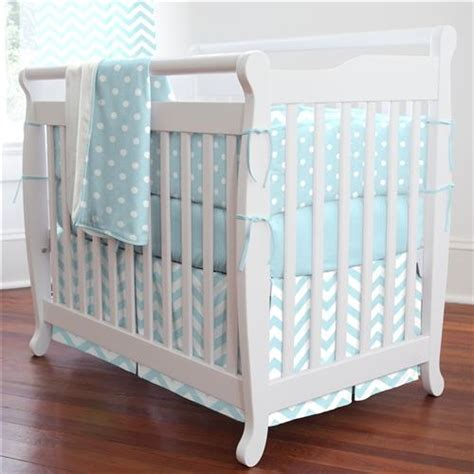 Cheap Chevron Crib Bedding Mist Chevron And Dots Portable Crib Bedding Carousel Designs