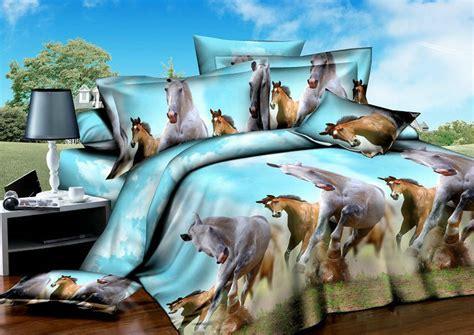 horse bed sets aliexpress com buy horse design print bedding sets for queen size bedspreads duvet