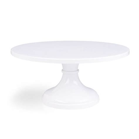 Cake Stand Simple White Large 14 inch 16 inch 18 inch white wedding cake stands s stands