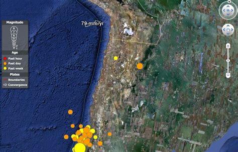 imagenes google earth terremoto chile geoperspectivas geograf 205 a y educaci 211 n terremoto en