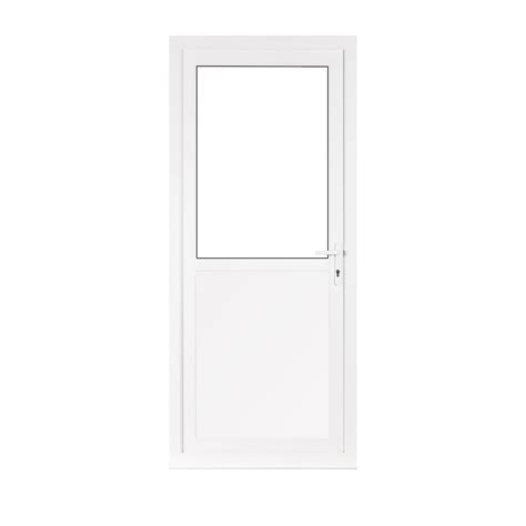 Half Glazed Exterior Doors Half Glass Upvc Back Door Flying Doors