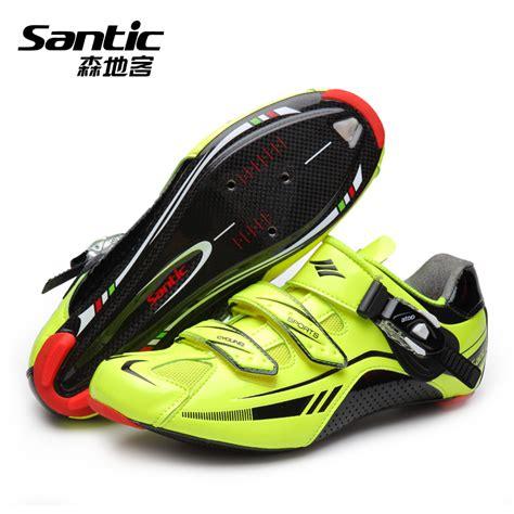 carbon road bike shoes santic cycling shoes ultra light carbon fiber bottom