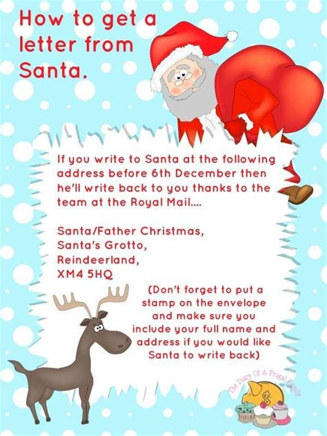 Free Printables Letter To Santa Templates And How To Get A Reply From The Big Guy Himself Free Santa Reply Letter Template