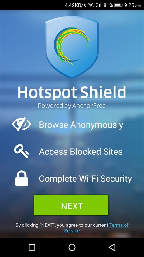 hotspot shield android hotspot shield vpn for android detailed review giveaway