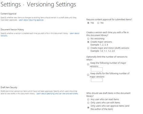 sharepoint 2013 workflow versioning approve document set using sharepoint 2013 workflow svipullo