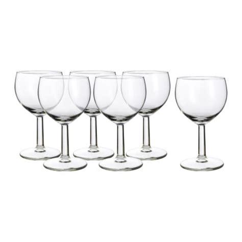 bicchieri da vino ikea f 214 rsiktigt bicchiere da vino ikea