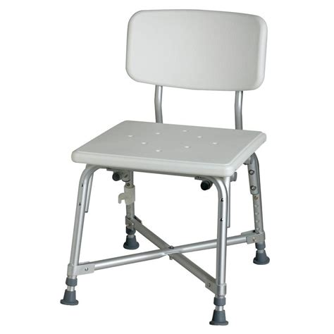 medline transfer bench with back medline bath bench mds89740rh the home depot