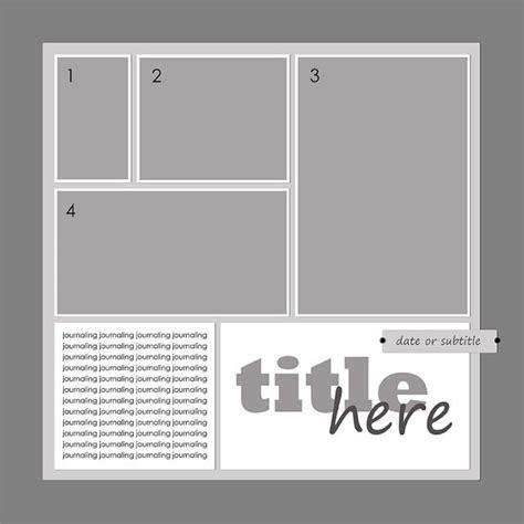 best 25 scrapbook templates ideas on pinterest simple