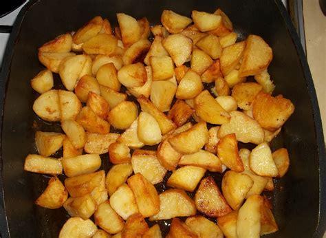 fried potatoes with svanetian salt georgian recipes