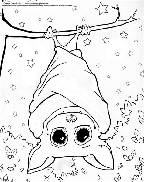 preschool bat coloring page stellaluna printables coloring home