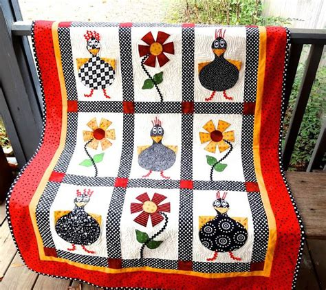 quilt pattern rooster 1000 images about quilting chicken blocks on pinterest