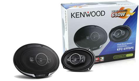 Speaker Oval Kenwood Kenwood Kfc 6995ps 6x9 Quot 5 Way Coaxial Car Speakers Pair New Kfc6995ps Ebay