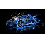 Cars On Blue Fire  Wwwimgkidcom The Image Kid Has It