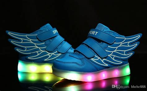 children shoes with light up sneakers for usb