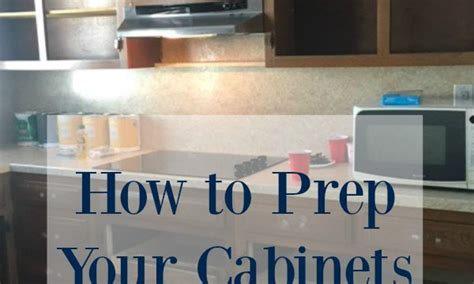 how to prep kitchen cabinets for painting seeking lavendar lane