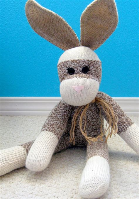 sock bunny friends 27 best sock monkey dolls images on sock monkeys monkey doll and boot socks