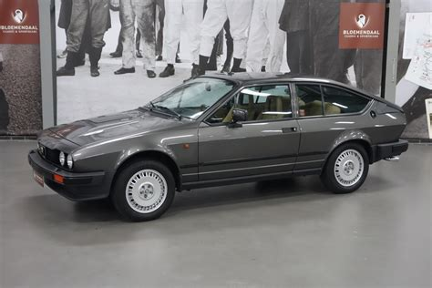 Alfa Romeo Gtv 6 by Code Peinture Gtv 6 De 1982
