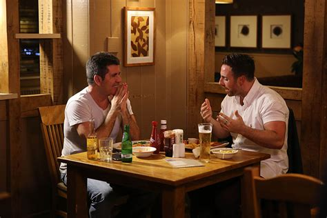 St Evi x factor judge simon cowell and stevi ritchie enjoy dinner for two