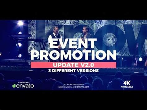 Event Promo 20579477 Videohive Free After Effects Template Youtube Event Promo Template Free