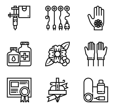 tattoo png pack engineering 30 gratis iconos archivos svg eps psd png