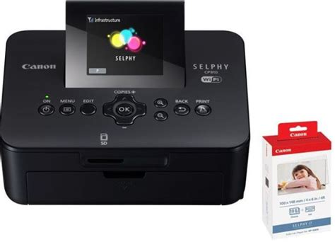 Printer Canon Selphy Cp910 canon selphy cp910 compact photo printer canon kp 108in ink and photo paper price review and
