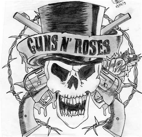 Guns N Roses Logo Drawing Dyrevelferdfo