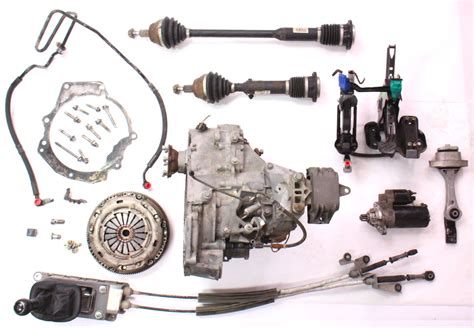 volkswagen parts 6 speed manual transmission swap parts kit 99 05 vw jetta
