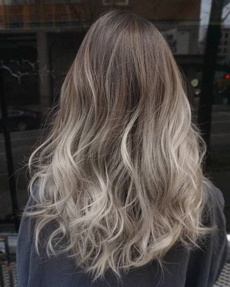 pics of platnium an brown hair styles 40 glamorous ash blonde and silver ombre hairstyles
