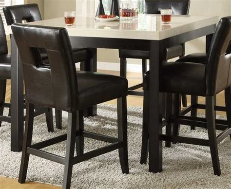 homelegance 3270 48 archstone faux homelegance 3270 36 archstone counter height dining table only