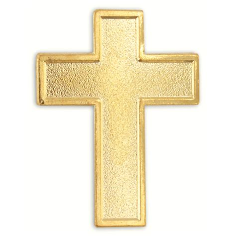 Gold Cross Gold Cross Religious Lapel Pin Ebay
