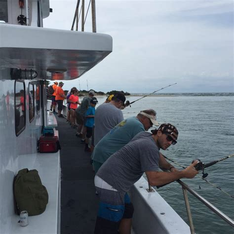 outer banks head boats half day inshore fishing on the pamlico sound aboard the