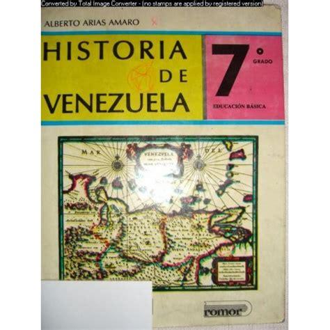 libro origen libro de historia de venezuela de alberto arias amaro newhairstylesformen2014 com