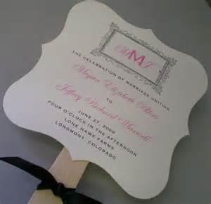 wedding program fans diy template duty semi diy programs weddingbee