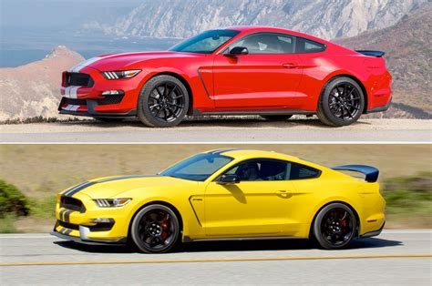 mustang gt vs gt500 does the shelby gt350r make more power than the gt350