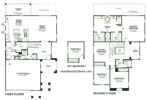lexington floor plan torreno at rancho vistoso floor plan lexington model