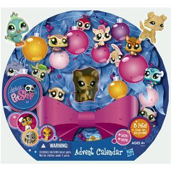 Littlest Pet Shop Calendrier De L Avent Hasbro Littlest Petshop Calendrier De L Avent Univers