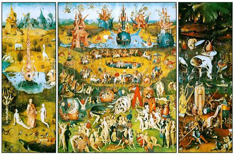 hieronymus bosch garden of hieronymus bosch garden of earthly delights poster 24x36