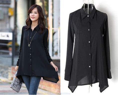 Blouse Jumbo Xl Fit Sorena Black Twistcone Big Size black fashion chiffon blouses shirt tops size l 6xl large formal casual ebay