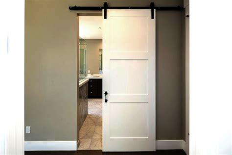 cost of closet doors the cost and value of interior barn doors homeadvisor