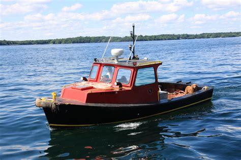 small boat on water small boats water taxi rj marine associates ltd