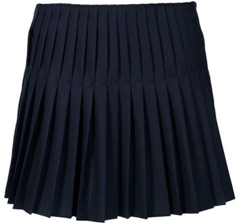 joseph pleated skirt in blue navy lyst