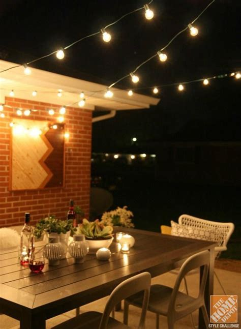 Patio Cafe Lights 132 Best Images About Backyard Ideas On Pinterest String Lights Backyards And Storage Sheds