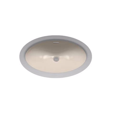 oval undermount bathroom sink toto 17 in oval undermount bathroom sink in bone lt569 03