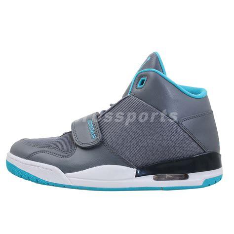 nike velcro basketball shoes nike fltclb 90s flightclub grey blue air mens