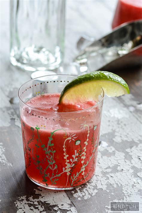 watermelon vodka cooler  healthy life